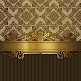Cru de luxe background Photo stock