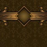 Cru de luxe background illustration de vecteur