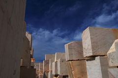 Cru de marbre Photographie stock libre de droits