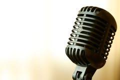 cru de microphone Images stock