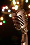 cru de microphone Photographie stock
