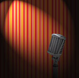 cru de microphone Illustration Libre de Droits