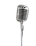 cru de microphone Photographie stock libre de droits