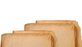 cru de papier Images libres de droits