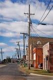cru de petite ville Photo libre de droits