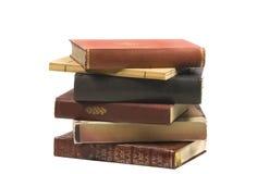 cru de pile de livres Photographie stock libre de droits