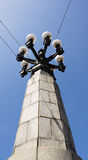 cru de rue de lampe Photos libres de droits