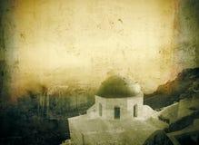 Cru de Santorini photographie stock