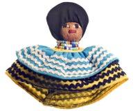 cru fabriqué à la main de seminole de poupée image libre de droits
