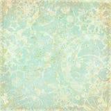 cru floral de thème de fond antique Image stock