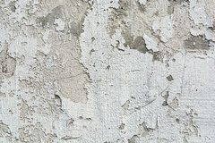 Cru ou fond blanc sale de la colle normale ou de la vieille texture en pierre comme rétro mur de configuration Photos libres de droits