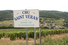Cru saint veran Royalty Free Stock Images