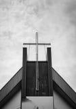 Cruce contra el cielo Fotos de archivo libres de regalías