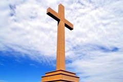 Cruz del cielo imagenes de archivo