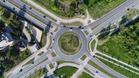 Cruce giratorio 3 Fotografía de archivo libre de regalías