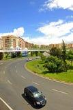 Cruce giratorio, Caceres, Extremadura, España Fotos de archivo