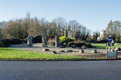 Cruce giratorio de Daneshill, Basingstoke Fotografía de archivo libre de regalías
