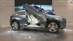 Cruce Subaru Viziv 2 del concepto metrajes