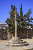 Monastery Sant Cugat del Valles.Catalonia Royalty Free Stock Photography
