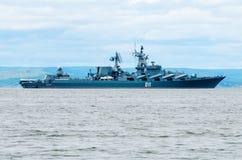 Crucero del misil imagenes de archivo