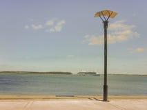 Crucero del océano en Punta del Este Uruguay Fotografía de archivo