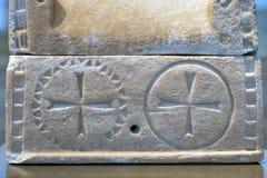 Cruces antiguas Imágenes de archivo libres de regalías