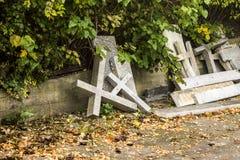 Cruces concretas Fotografía de archivo libre de regalías