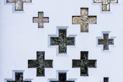 Cruces cristianas Foto de archivo