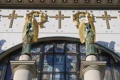 Cruces de los ángeles Imágenes de archivo libres de regalías