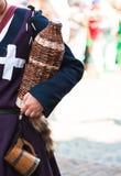 Cruche avec du vin Photo libre de droits