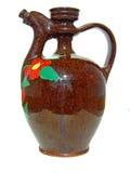 cruche (de l'eau de poterie de terre) Images libres de droits
