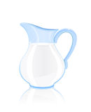 Cruche de lait Images stock