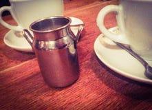 Cruche de lait Photo libre de droits