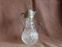 Cruche en cristal Photo stock