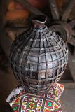 Cruche faite maison traditionnelle Photographie stock