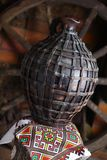 Cruche faite maison traditionnelle Photos stock