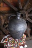 Cruche faite maison traditionnelle Photographie stock libre de droits