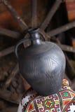 Cruche faite maison traditionnelle Image stock
