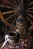 Cruche traditionnelle de vin Image stock
