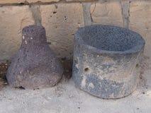 Cruches de Carthage antique détruite Image libre de droits