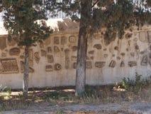 Cruches de Carthage antique détruite Photo libre de droits