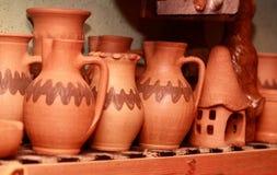 Cruches et ornements Image libre de droits