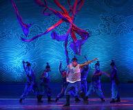 "At a crucial moment-Dance drama ""The Dream of Maritime Silk Road"" Royalty Free Stock Photography"