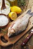 Crucian, fish Stock Photos
