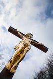 Crucifié Photographie stock libre de droits