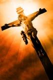 A crucificação foto de stock