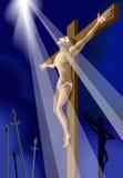 Crucificação Foto de Stock