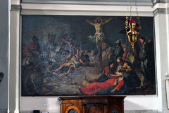 A crucificação Fotografia de Stock Royalty Free