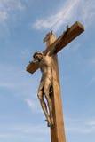 Crucificação de Jesus Christ. Fotografia de Stock