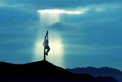 A crucificação do Jesus Cristo imagens de stock royalty free